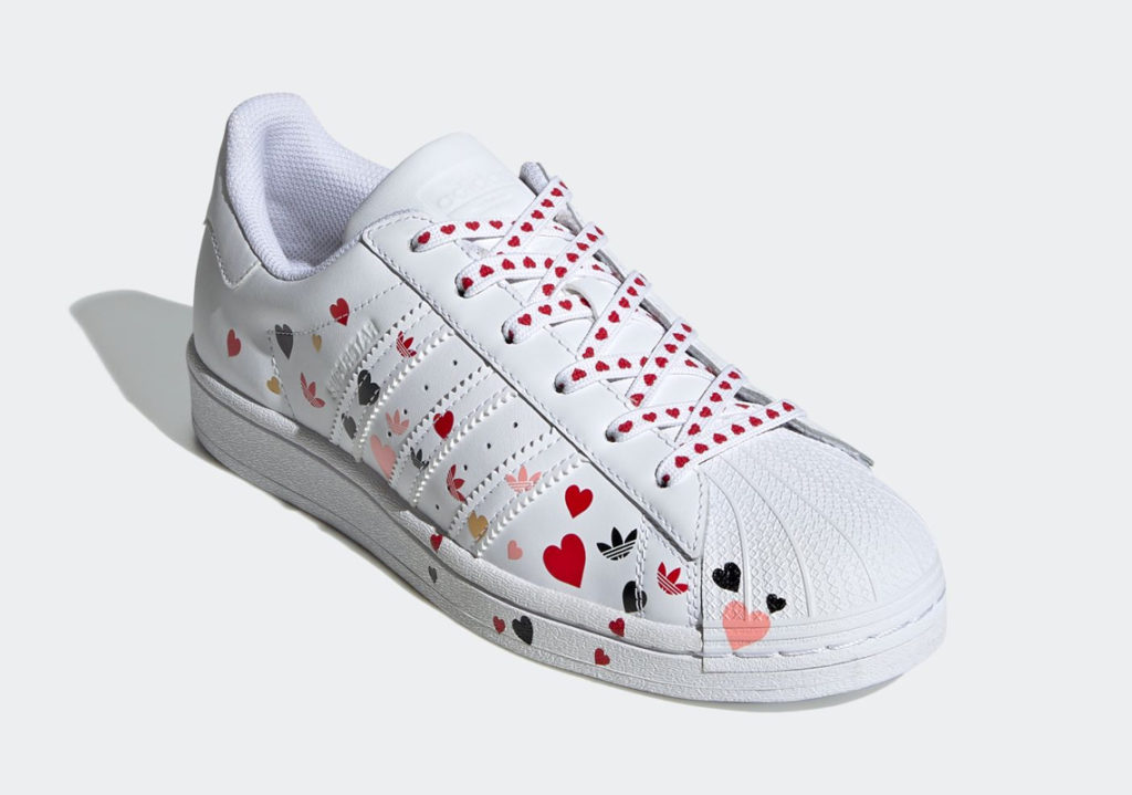 adidas Superstar Valentine's Day 1