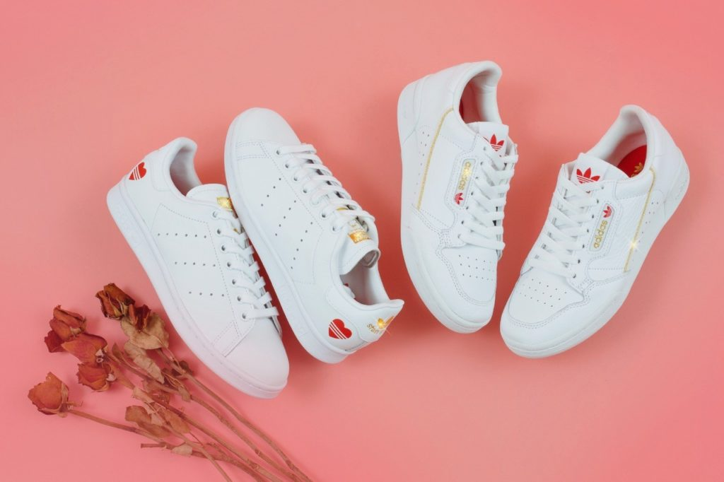 adidas Stan Smith & Continental 80 Valentine's Day Pack