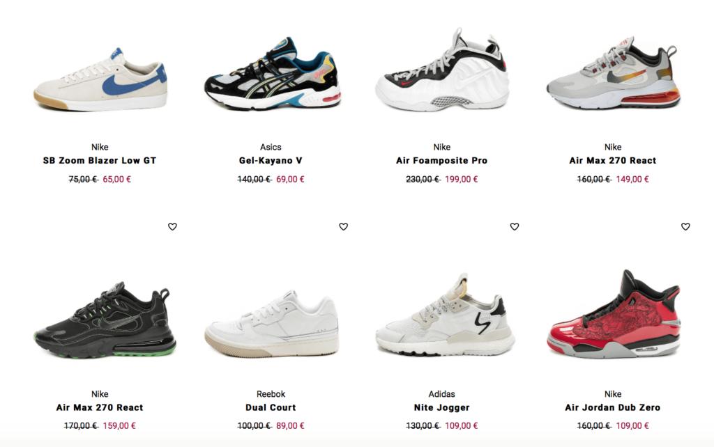 20% Rabatt auf Schuhe & Sneaker von adidas, Nike, Asics