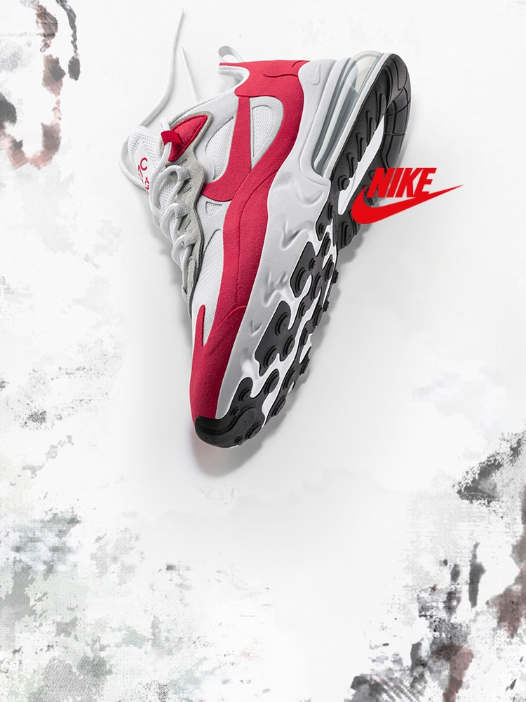 Air Max Day Celebration Pack - Air Max 270 React University Red