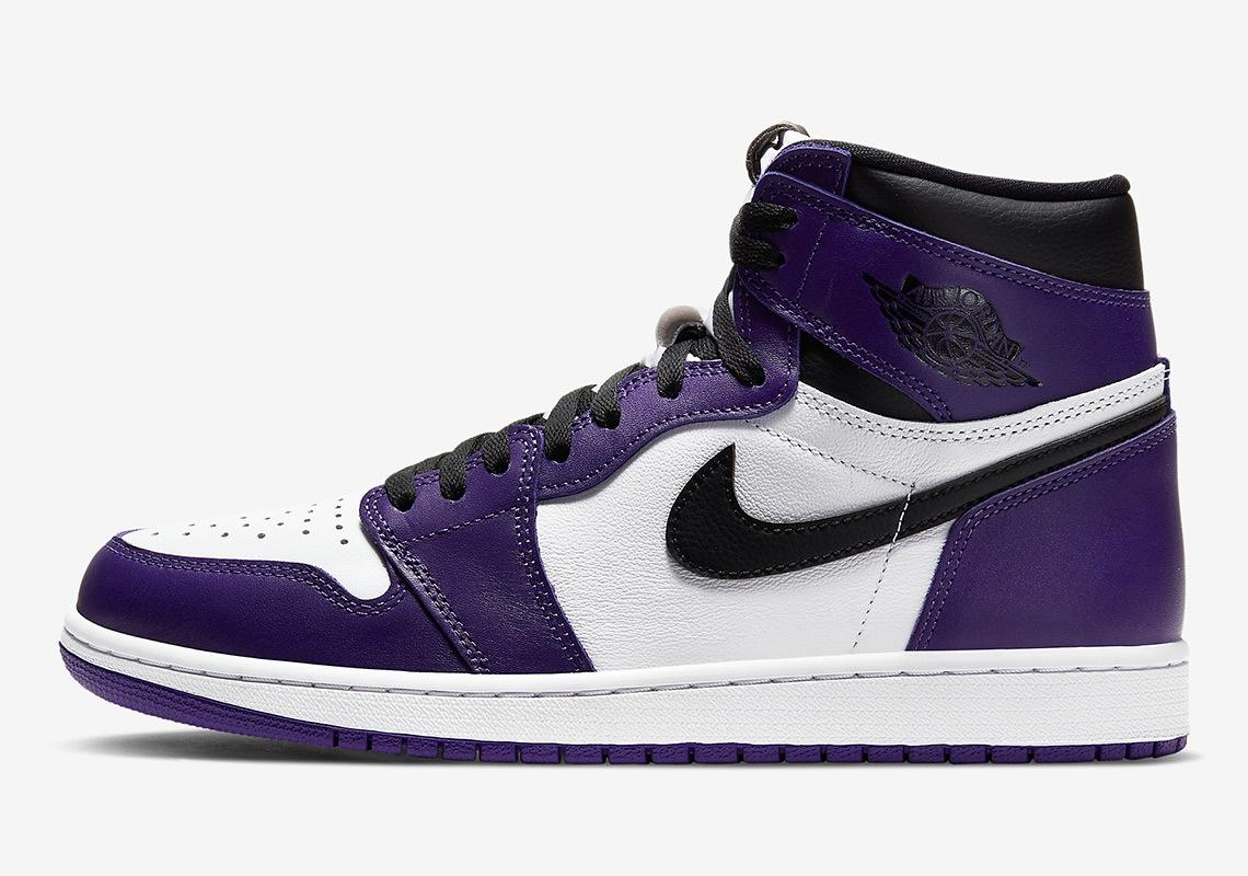 Nike Air Jordan 1 Court Purple