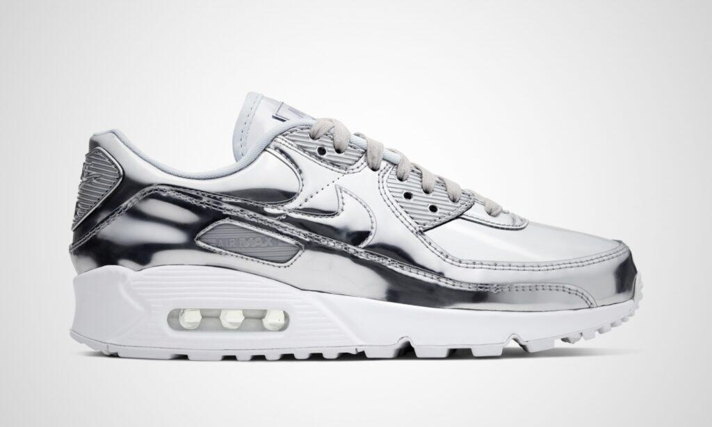 Nike Air Max 90 Metallic Pack Silver
