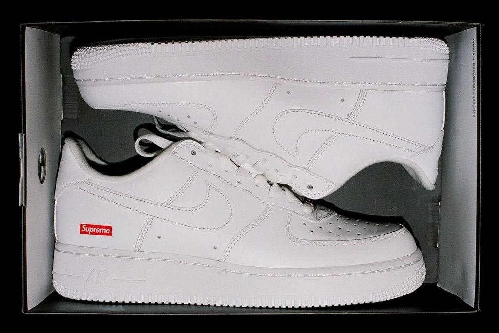 nike x supreme x air force 1 drop