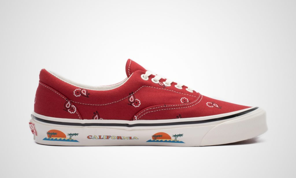 Vans OG Era Paisley Red