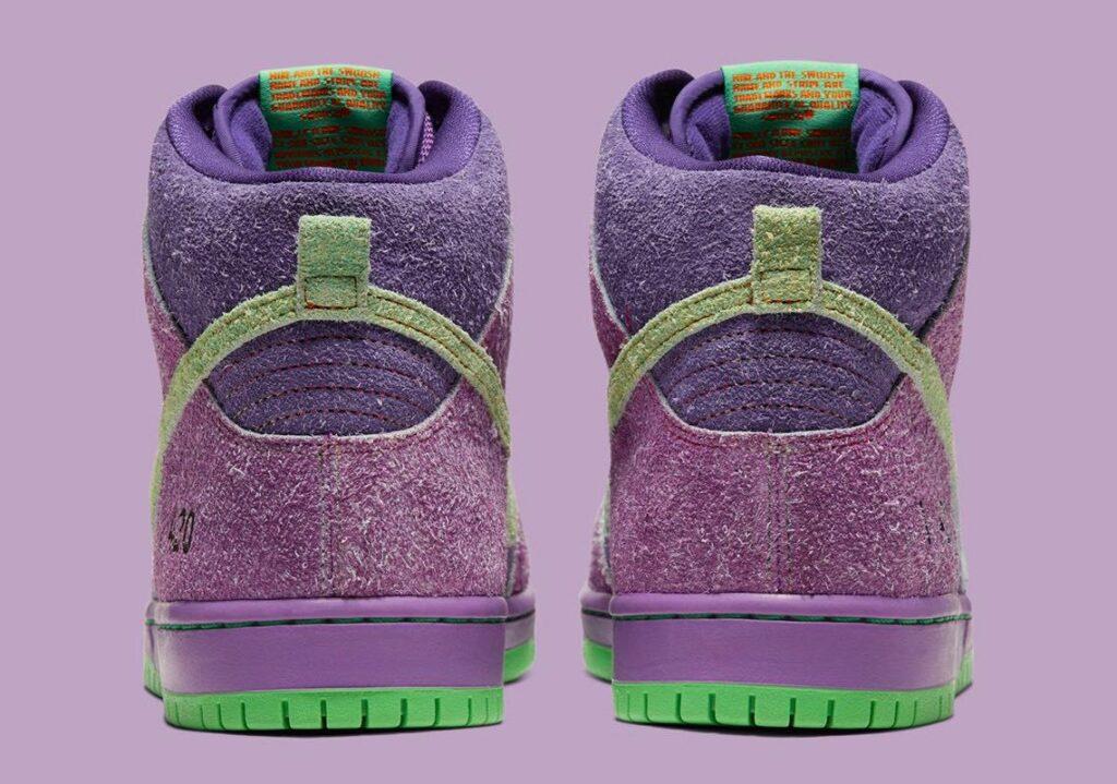 Nike SB Dunk High 420 - Back