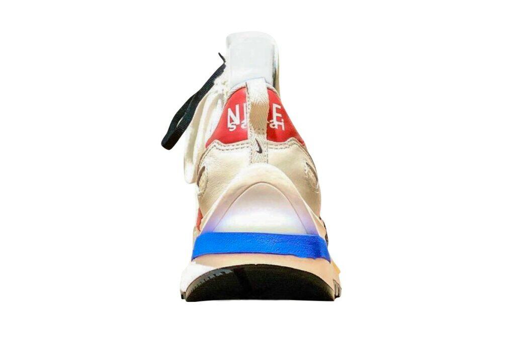 sacai x Nike Vaporwaffle Game Royal/Sport Fuchsia - Back