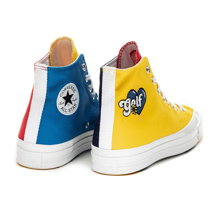 Converse x Golf Wang Chuck Taylor All Star 70 Hi Tri Panel