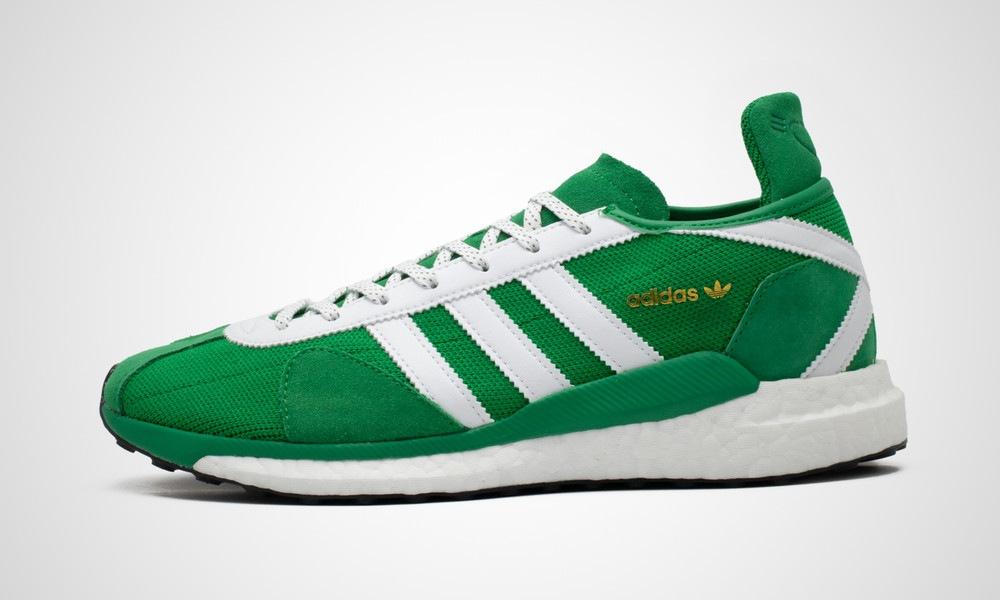 adidas x Human Made Tokio Solar green