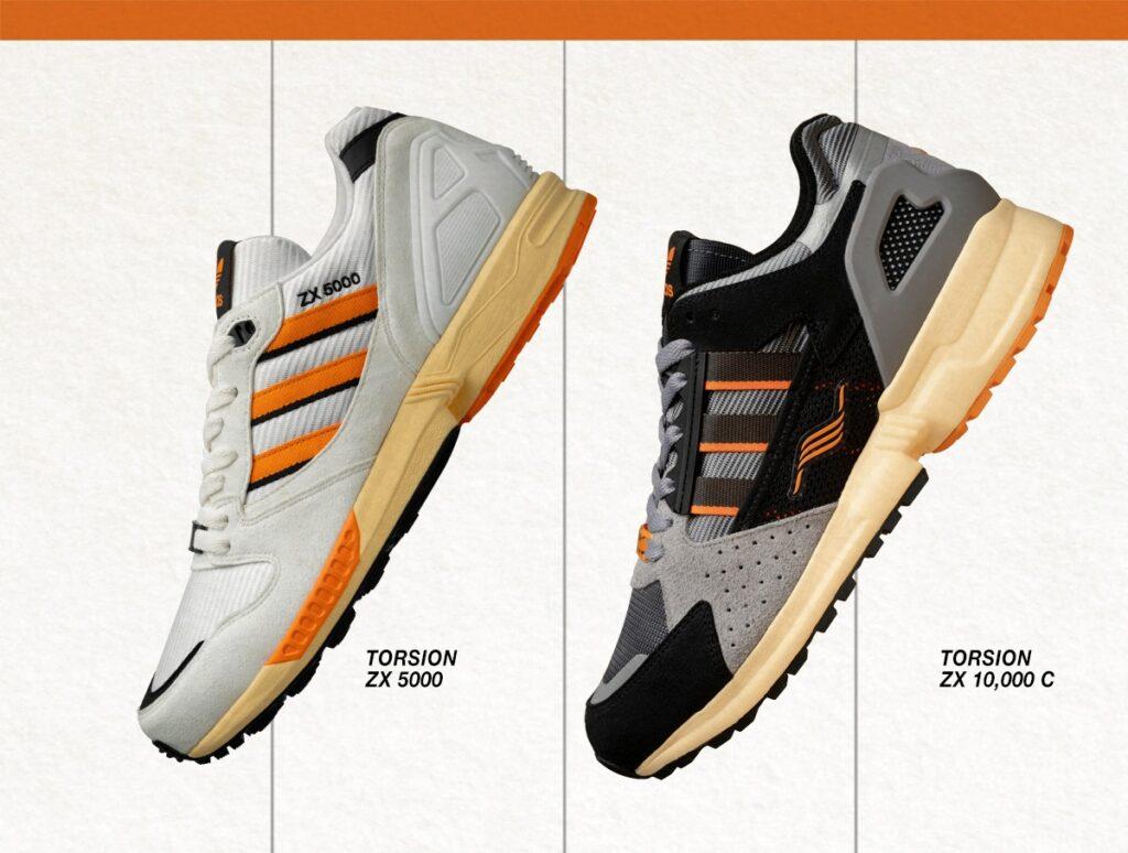 size? x adidas ZX 5000 & 10000c