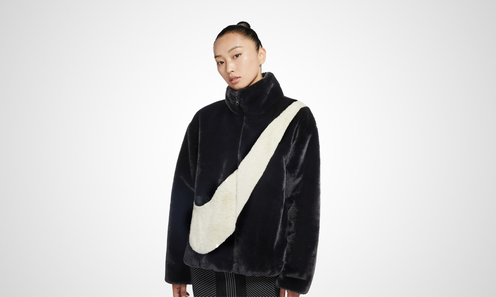 Nike Faux Fur Jacket