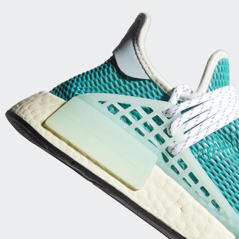 Pharrell Williams x adidas NMD Hu Dash Green