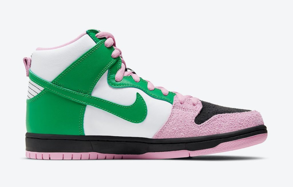 Nike SB Dunk High Invert Celtics