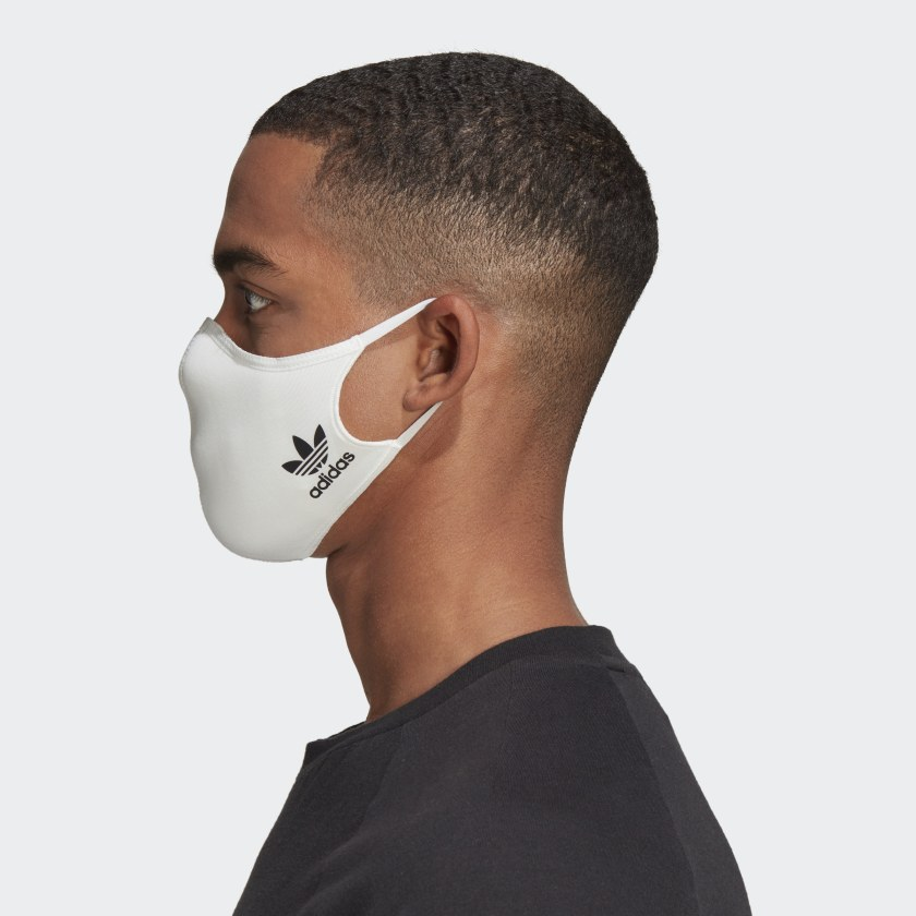 adidas Face Mask white