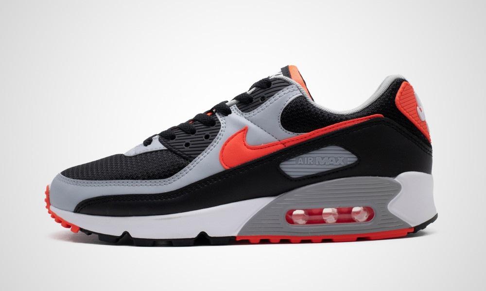 Nike Air Max 90 Black Radiant Red