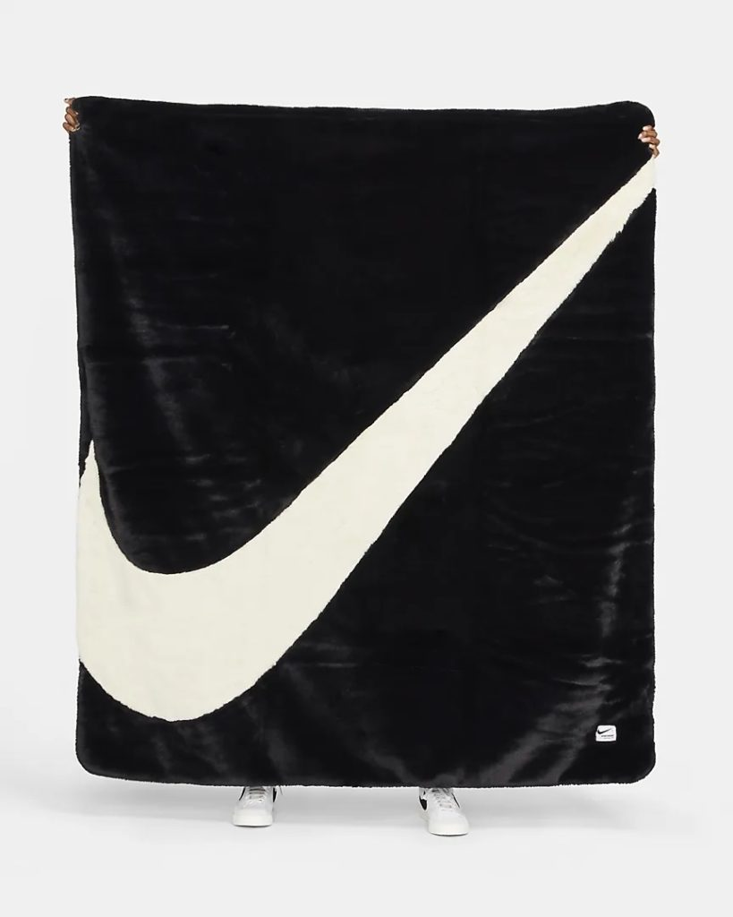 Nike Faux Fur Blanket
