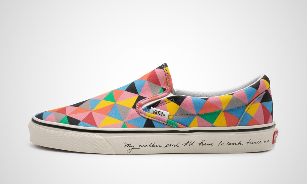 Vans x MoMA Classic Slip-On Faith Ringgold