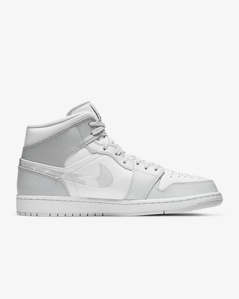 Nike Air Jordan 1 Mid White Camo