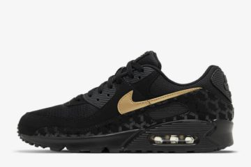 Nike Air Max 90 Black Metallic Gold