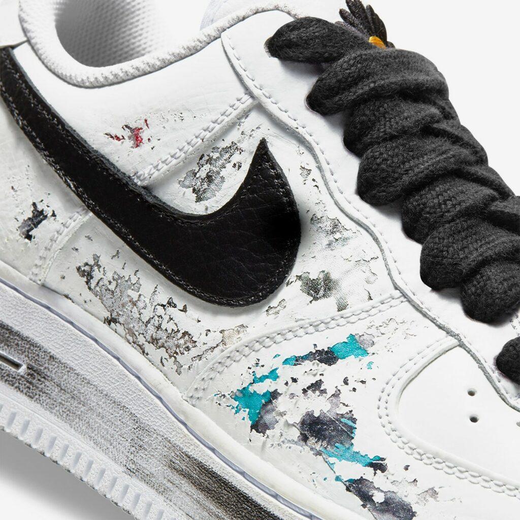 Nike x PEACEMINUSONE Air Force 1 Para Noise White