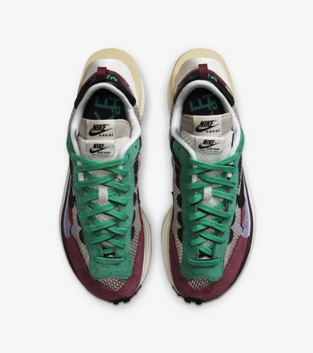 Nike x Sacai VaporWaffle Villain Red