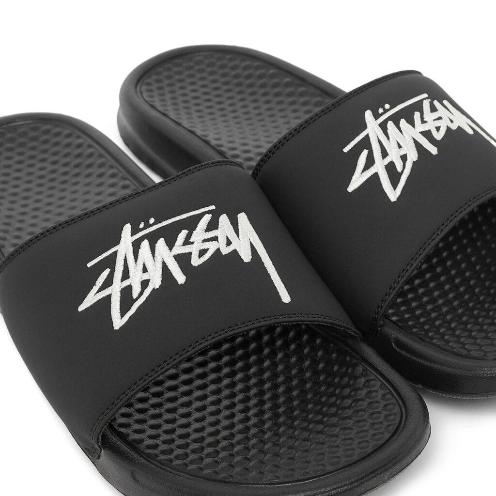 Stüssy x Nike Benassi Slides