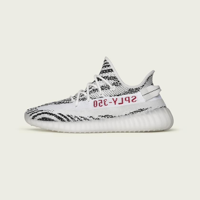 adidas Yeezy 350 V2 Zebra Yeezy Day