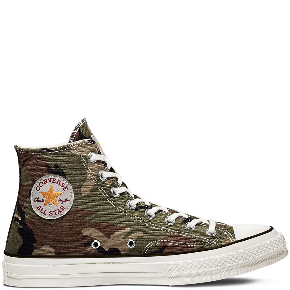 Carhartt x Converse Chuck 70 Covert Green