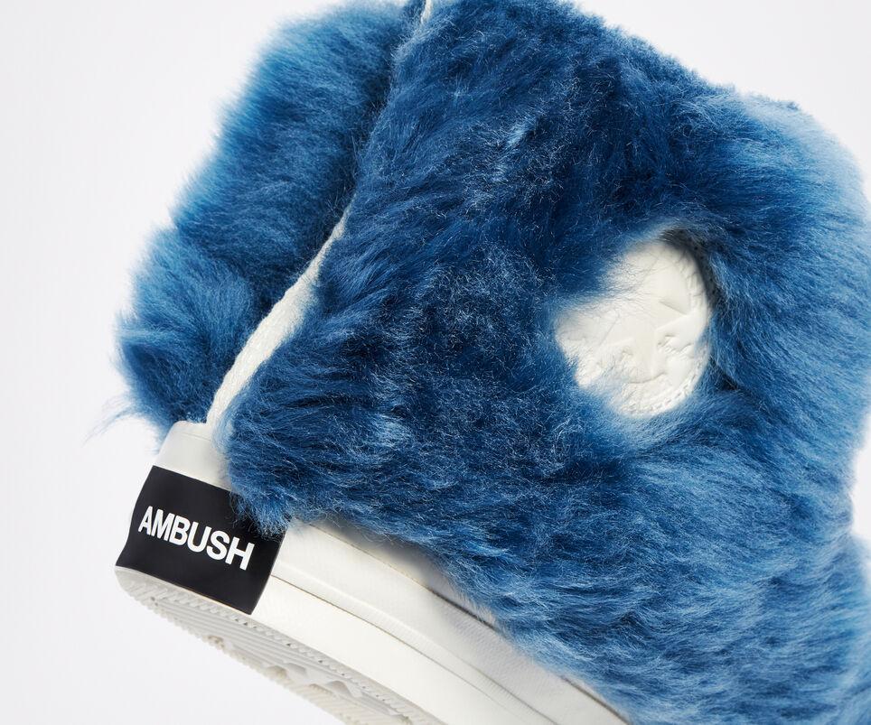 Ambush x Converse Chuck 70 Fuzzy Navy Blue