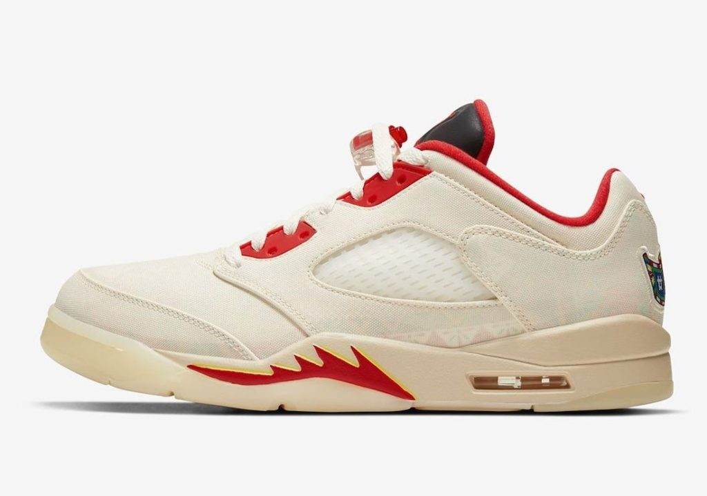 Nike Air Jordan 5 Low CNY DD2240-100