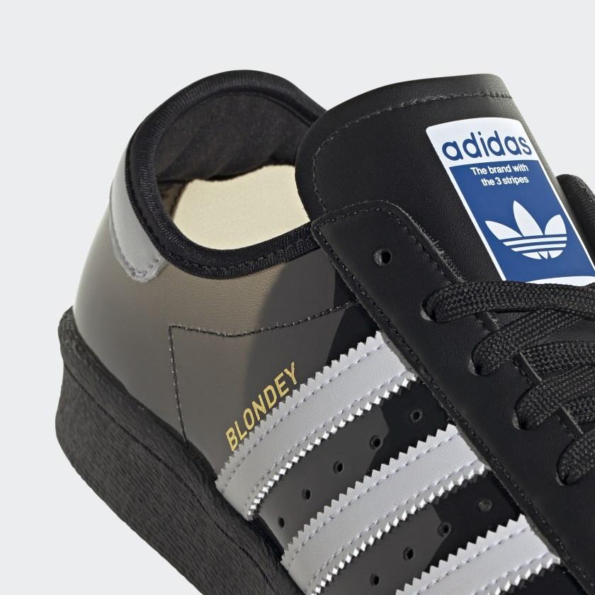 Blondey adidas Superstar Core Black