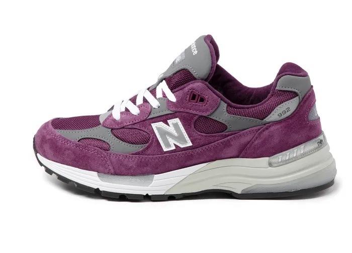 New Balance M992 Purple/Grey