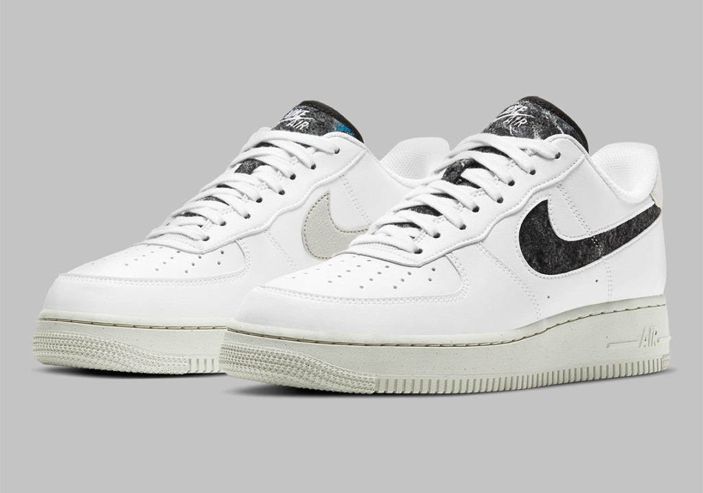 Nike Air Force 1 Recycled Wool White
