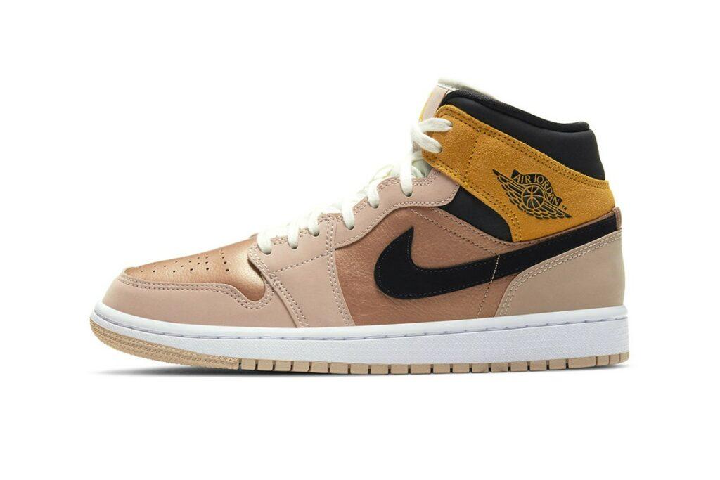 Nike Air Jordan 1 Mid Bronze Toe-DD2224-200