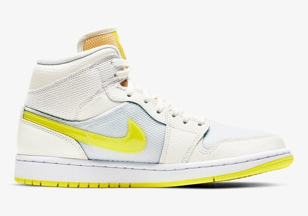 Nike Air Jordan 1 Mid SE Voltage Yellow