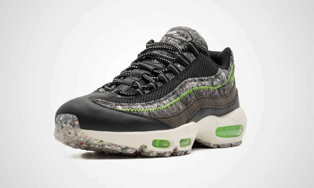 Nike Air Max 95 Recycled Wool Electric Green