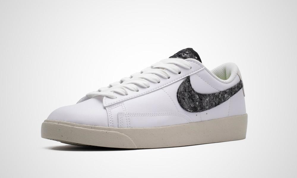 Nike Blazer Low Recycled White