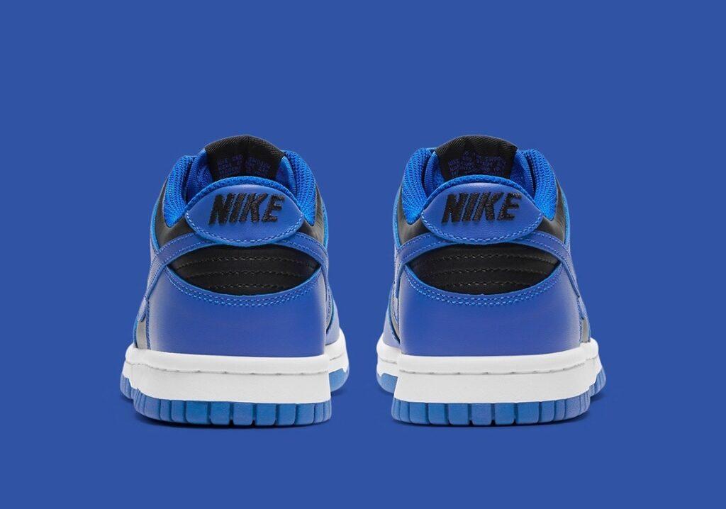 Nike Dunk Low Black Hyper Cobalt