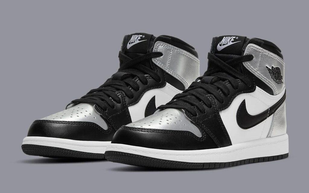 Nike Air Jordan 1 Silver Toe