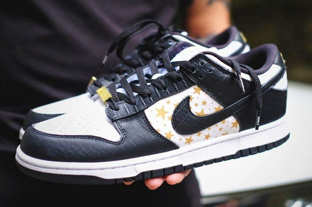 Supreme x Nike SB Dunk Low Black/White