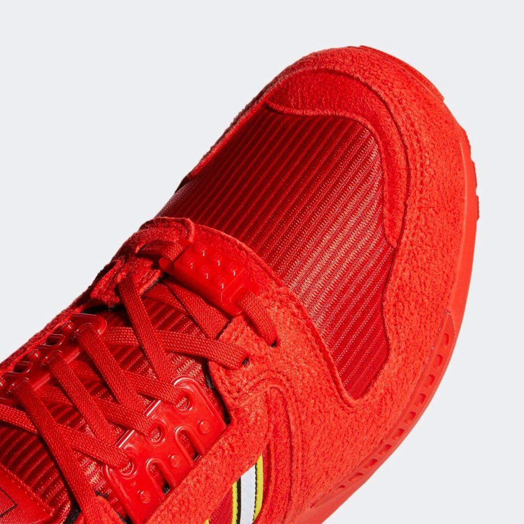 Lego x adidas ZX 8000 Red
