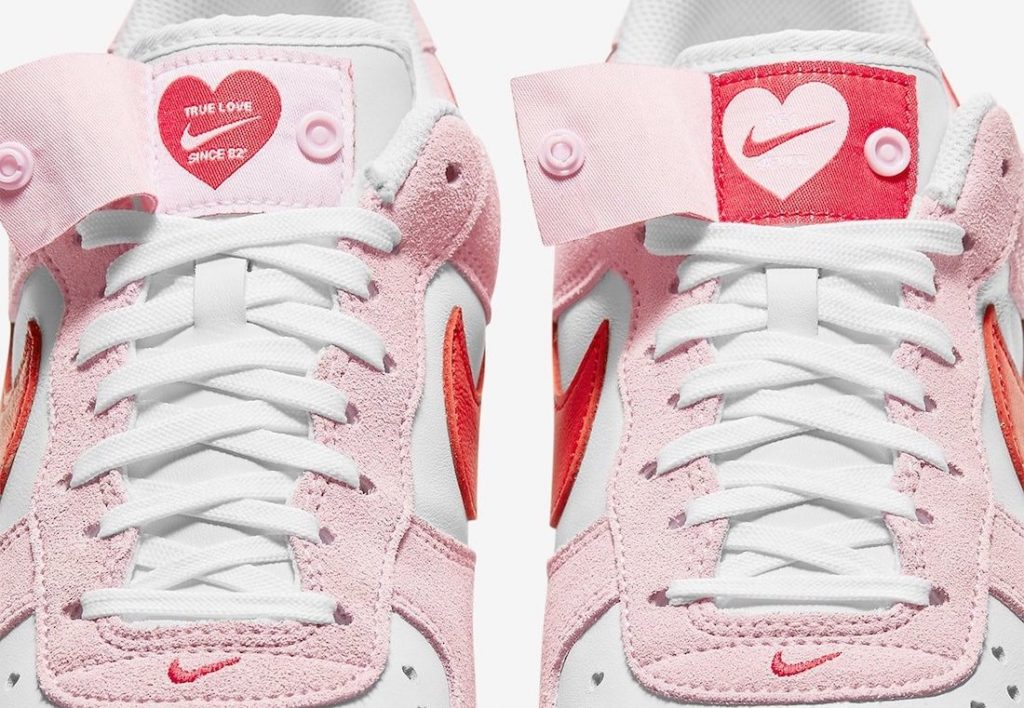 Nike Air Force 1 Valentines Day Pink DD3384 600