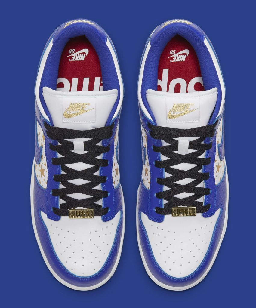 Supreme x Nike SB Dunk Low Hyper Royal