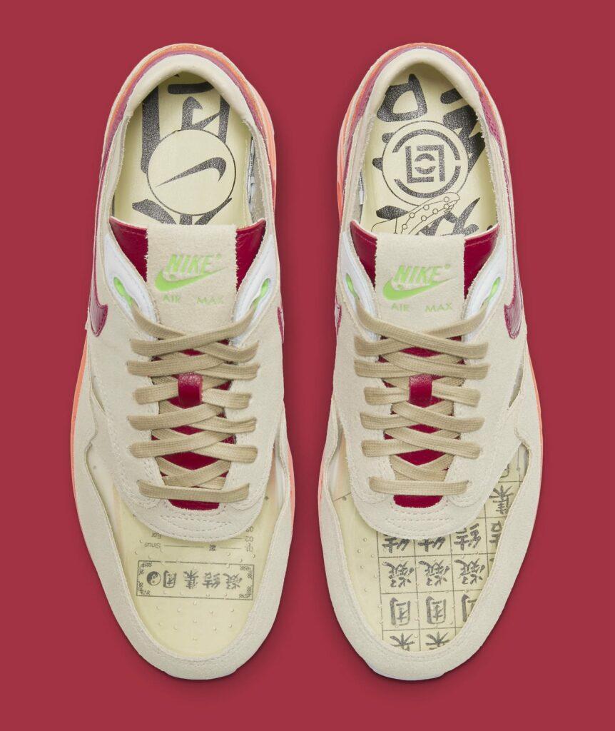 CLOT x Nike Air Max 1 Kiss Of Death dd1870-100