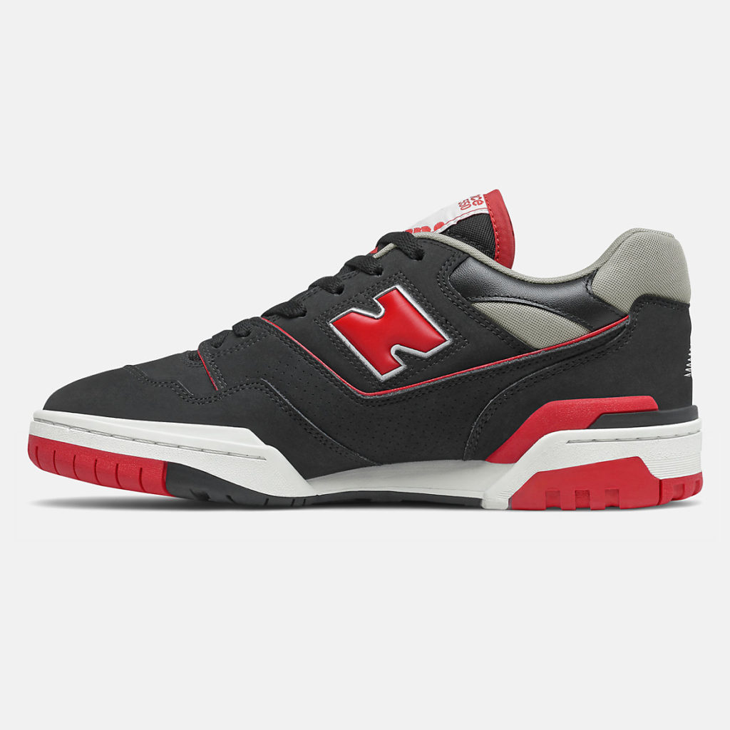 New Balance 550 Black Red-BB550SG1-