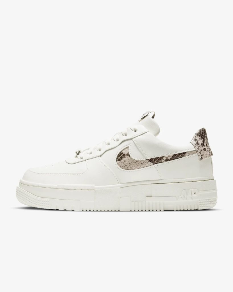 Nike Air Force 1 Pixel Snake Swoosh