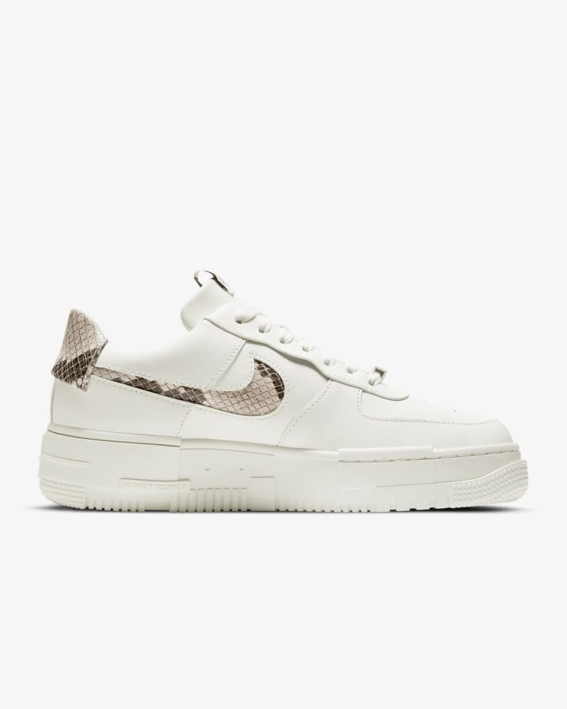 Nike Air Force 1 Pixel Snake Swoosh
