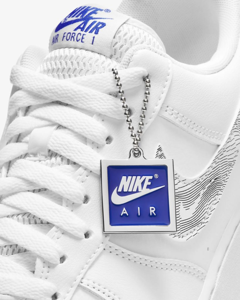 Nike Air Force 1 Topography Blue