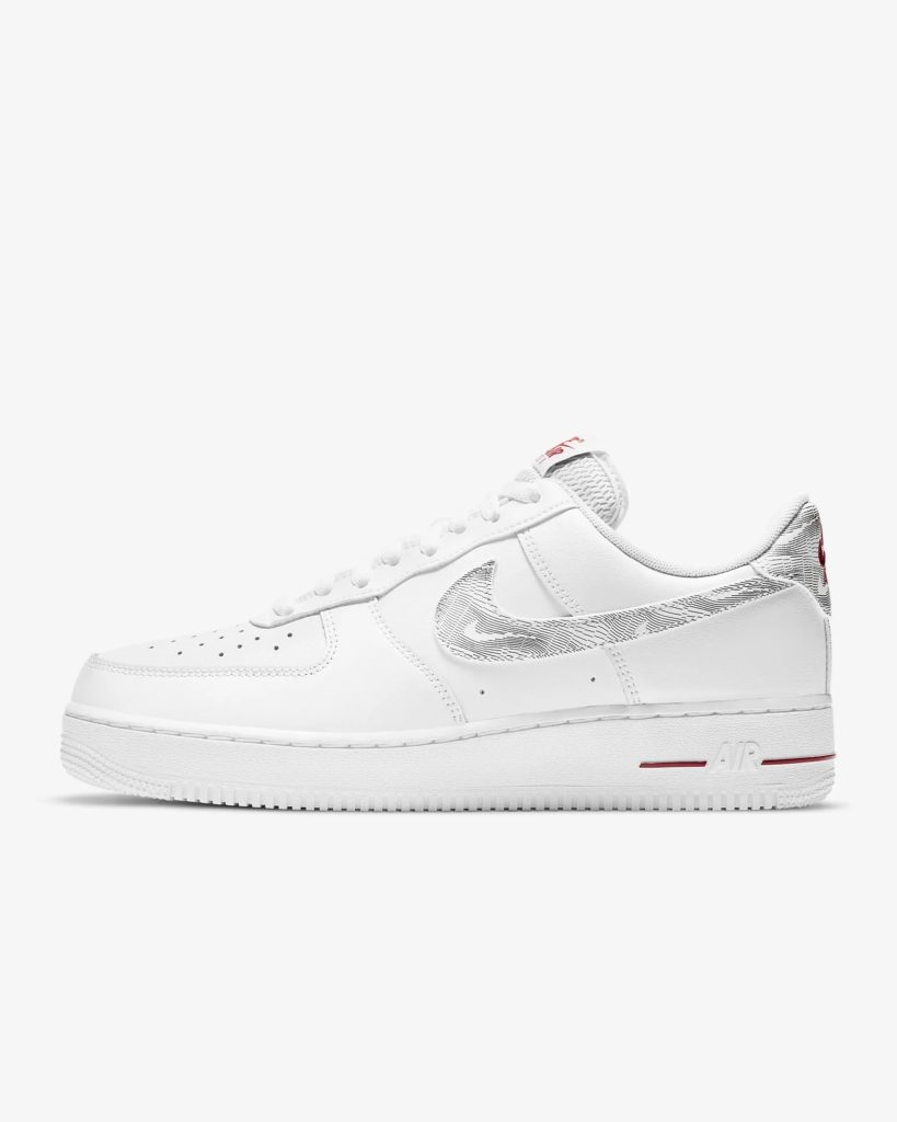 Nike Air Force 1 Topography Red_DH3941-100_