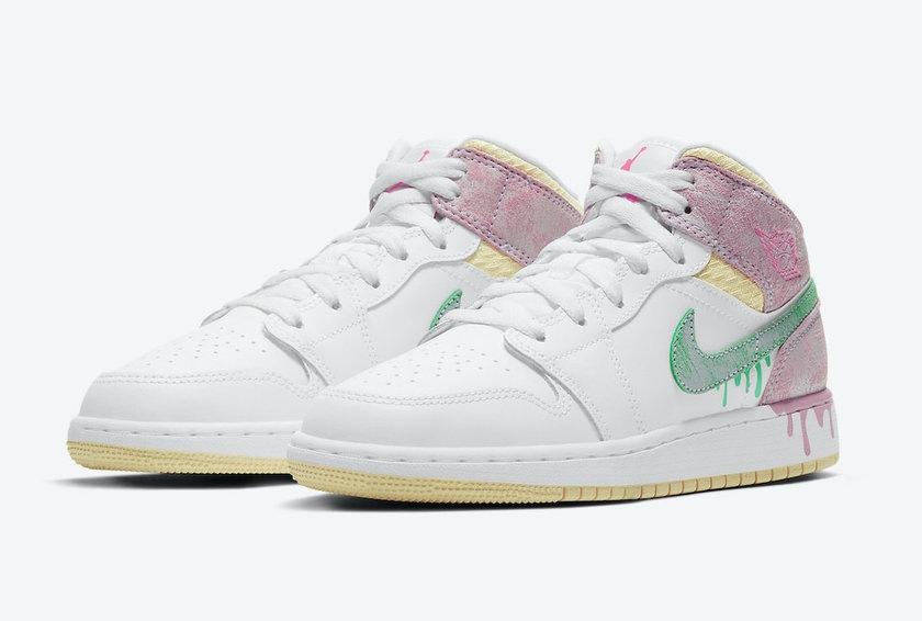 Nike Air Jordan 1 Mid Paint Drip-DD1666-100-deadstock-