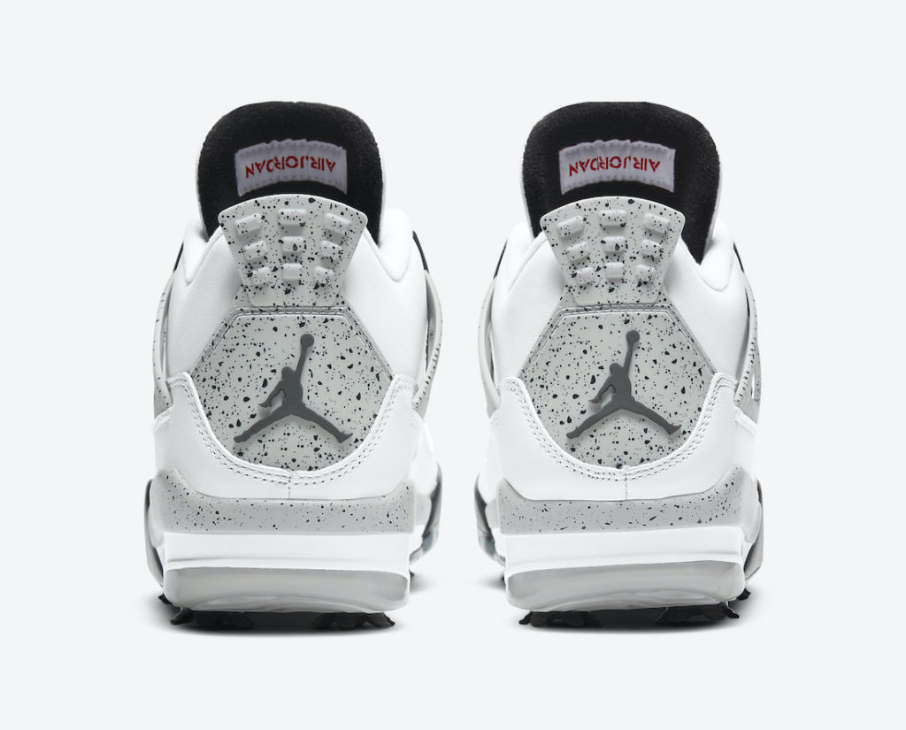 Nike Air Jordan 4 White Cement Golf-CU9981-100-deadstock-